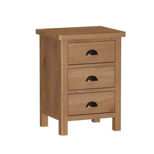 Ramsbottom 3 Drawer Bedside